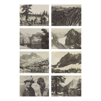 View 4. Thumbnail of Lot 78. The Sierra Club Outing, 1929.
