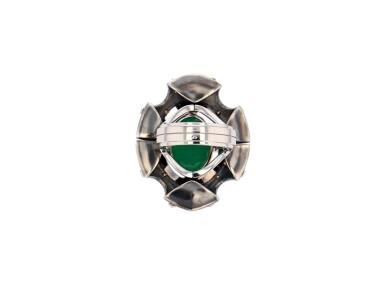 View 5. Thumbnail of Lot 11. Elie Top, Gem-Set, Diamond and Chrysoprase Ring [Bague Pierres de Couleur, Diamants et Chrysoprase], 'Eau d'Hiver'.