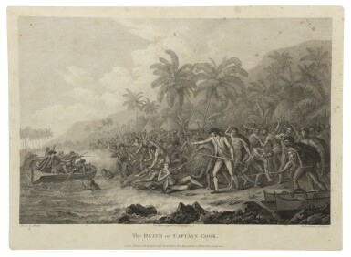 View 2. Thumbnail of Lot 128. COOK, CAPTAIN JAMES | [Complete set of the Voyages of Captain Cook].
