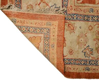 View 2. Thumbnail of Lot 122. A ZEIGLER MAHAL CARPET, NORTHWEST PERSIA, LAST QUARTER 19TH CENTURY.