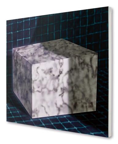 View 3. Thumbnail of Lot 1103. Avery Singer 艾芙瑞 · 辛格 | Untitled (Cube) 無題(立方體).