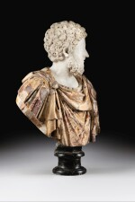 ITALIAN, 17TH CENTURY, AFTER THE ANTIQUE | BUST OF EMPEROR COMMODUS (161-192 C.E.)