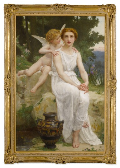 View 2. Thumbnail of Lot 14. GUILLAUME SEIGNAC     LOVE'S OFFERING .