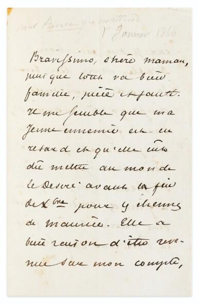 View 4. Thumbnail of Lot 96. La Princesse Georges. Paris,1872. In-8. Exemplaire de George Sand avec une LAS de Dumas fils..