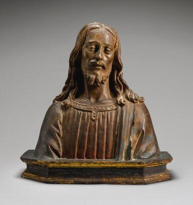 CIRCLE OF ANDREA DEL VERROCCHIO (CIRCA 1435-1488), ITALIAN, FLORENCE, LATE 15TH CENTURY | BUST OF CHRIST THE REDEEMER