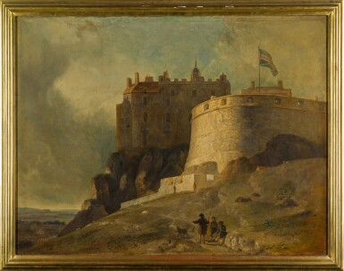 View 2. Thumbnail of Lot 176. Edinburgh, a view of the Round Tower of Edinburgh Castle.