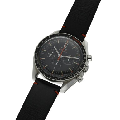 View 2. Thumbnail of Lot 102. OMEGA   SPEEDMASTER 'ULTRAMAN', A LIMITED EDITION STAINLESS STEEL CHRONOGRAPH WRISTWATCH WITH REGISTERS CIRCA 2018.