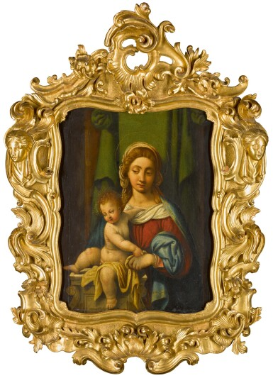 View 2. Thumbnail of Lot 105. Madonna and Child.