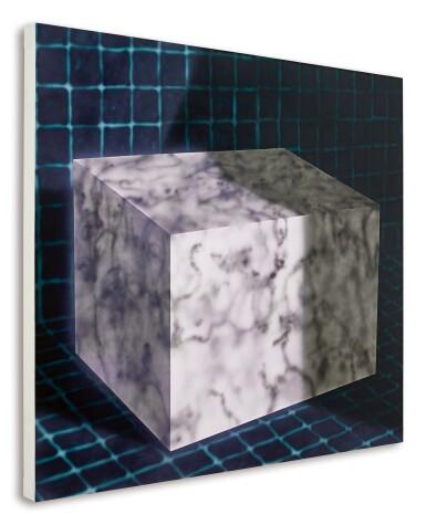 View 2. Thumbnail of Lot 1103. Avery Singer 艾芙瑞 · 辛格 | Untitled (Cube) 無題(立方體).