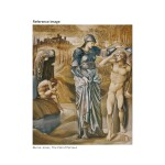 SIR EDWARD COLEY BURNE-JONES, BT., A.R.A., R.W.S. | STUDY FOR THE CALL OF PERSEUS
