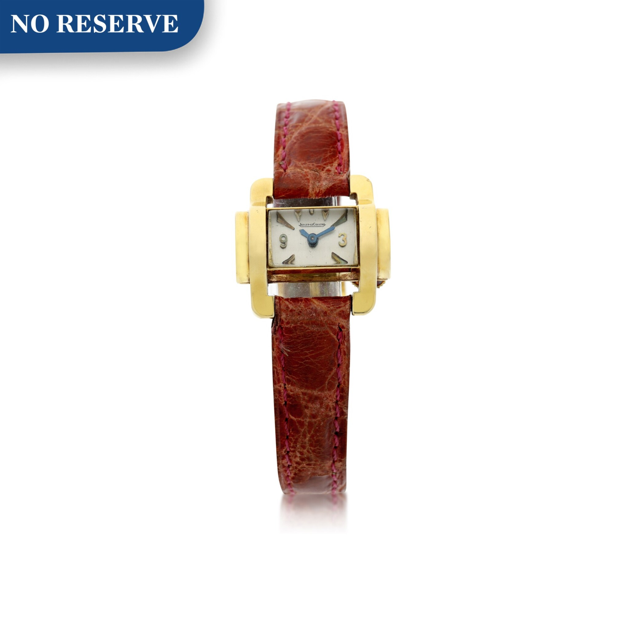 View full screen - View 1 of Lot 237. A LADY'S YELLOW GOLD WRISTWATCH, CIRCA 1955.