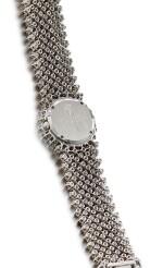 THE ROYAL DIAMOND | REFERENCE BA 15  A WHITE GOLD, DIAMOND AND BROWN DIAMOND-SET BRACELET WATCH, CIRCA 2000