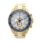 Reference 116688 Yacht-Master II A yellow gold automatic regatta chronograph wristwatch with bracelet, Circa 2008