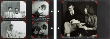 "View 4. Thumbnail of Lot 49. Sylvia Plath | Family photograph album (""The Hughes family Album""), 1957-1962."