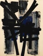 PIERRE SOULAGES | GOUACHE 65 X 50 CM, 1952