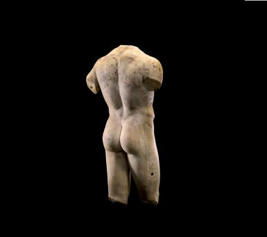 View 2. Thumbnail of Lot 225. A ROMAN MARBLE TORSO OF A MAN, CIRCA 2ND CENTURY A.D..