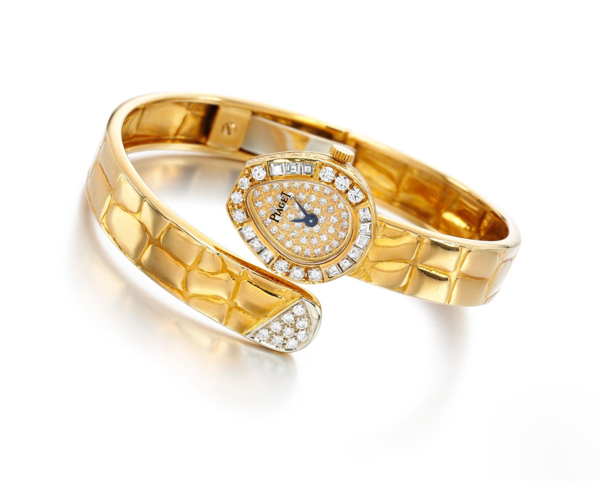 LADY'S DIAMOND WRISTWATCH, PIAGET
