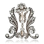 Diamond brooch, 1880s and later