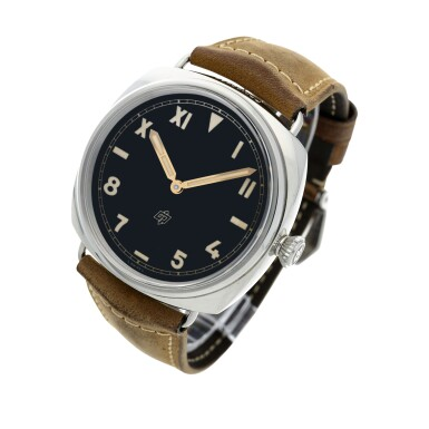 View 2. Thumbnail of Lot 108. Reference PAM00424 Radiomir California   A stainless steel wristwatch, Circa 2016.