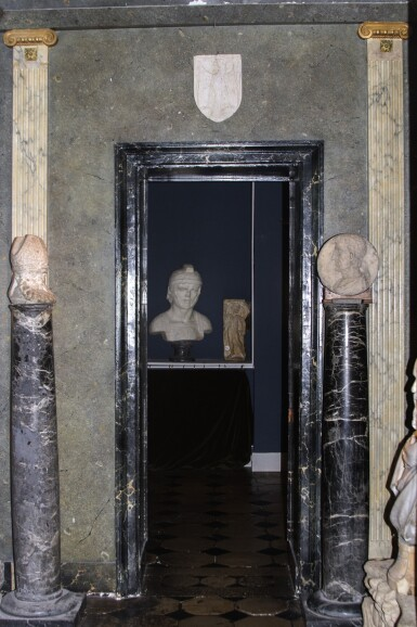 View 5. Thumbnail of Lot 155. Italian, 19th century | Pair of Columns.