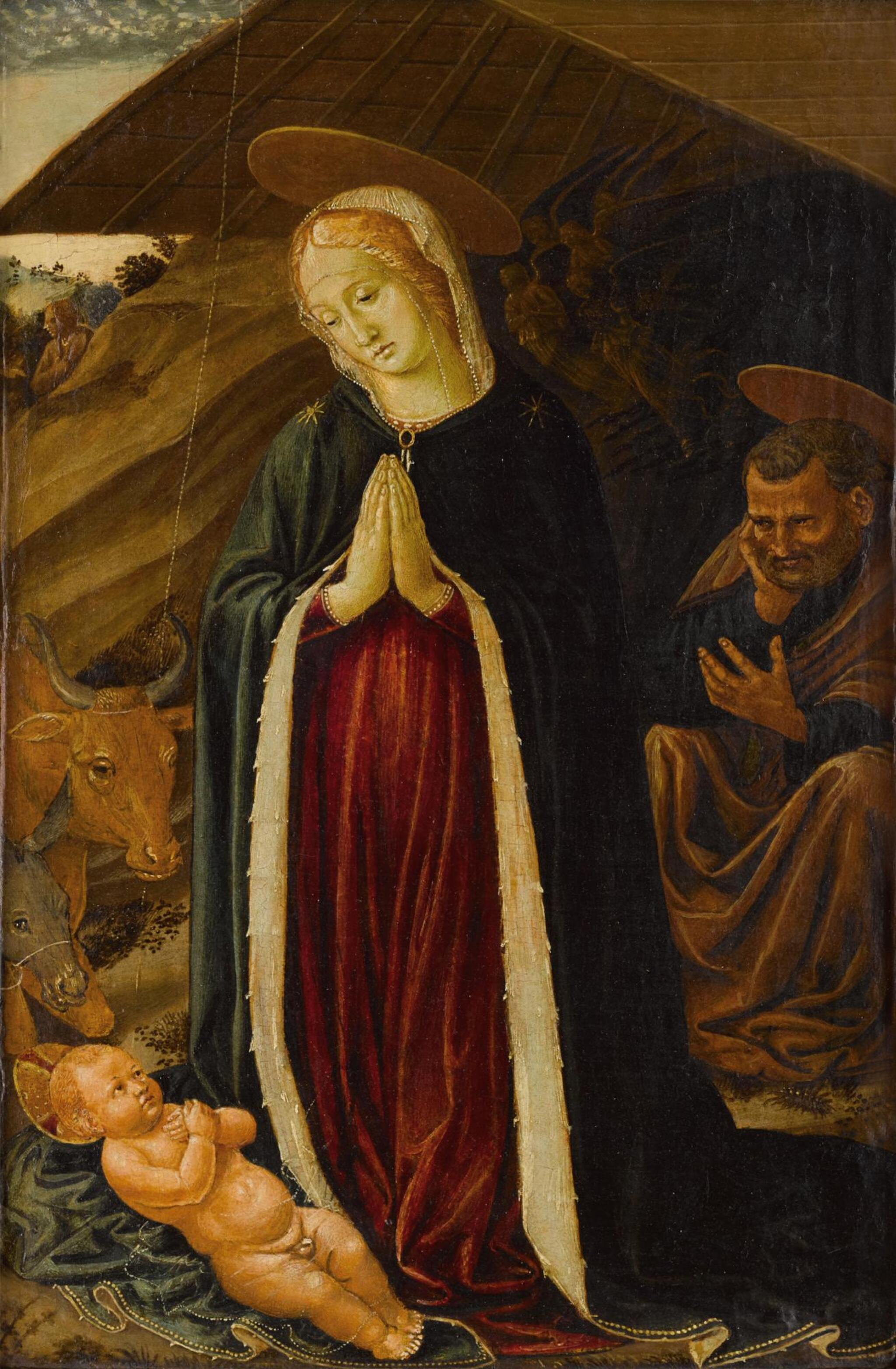 View full screen - View 1 of Lot 10. The Adoration of the Christ Child.