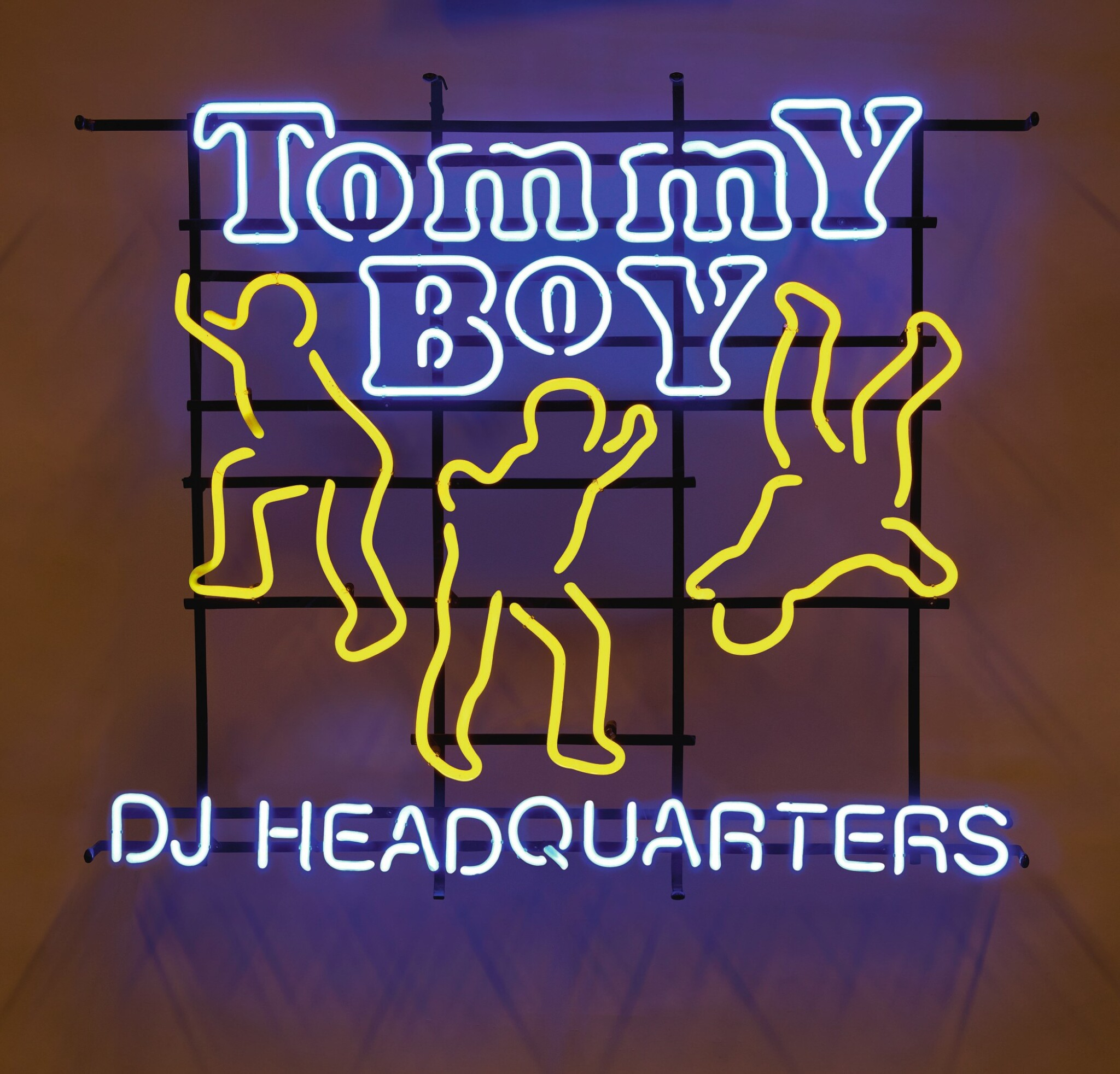 View full screen - View 1 of Lot 28. [TOMMY BOY RECORDS] | An original Neon Tommy Boy DJ Headquarters sign, ca 1990s.
