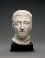 ATTRIBUTED TO DOMENICO POGGINI (1520-1590), ITALIAN, FLORENCE, 16TH CENTURY | HEAD OF A YOUNG MAN, POSSIBLY PIETRO DE' MEDICI (1554-1604)