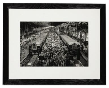 View 2. Thumbnail of Lot 111. Churchgate Station, Western Railroad Line, Bombay, India.