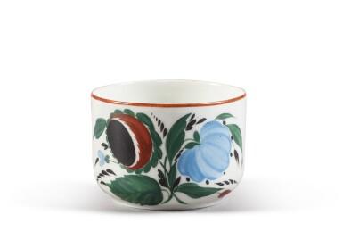 View 1. Thumbnail of Lot 150. A Soviet porcelain teacup, State Porcelain Factory, Petrograd, 1924.