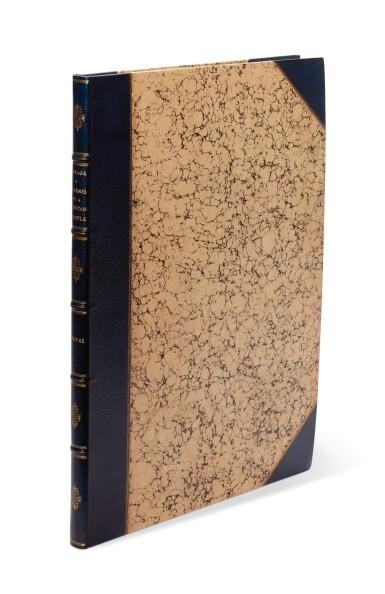 View 6. Thumbnail of Lot 47. Dupre. Voyage a Athenes et a Constantinople. Paris, 1825. folio, colour plates, twentieth-century blue half morocco gilt.
