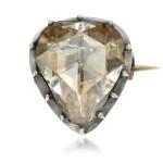 Diamond brooch, mid 19th century