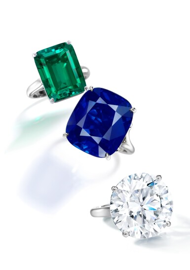 View 2. Thumbnail of Lot 101. Tiffany & Co. | An Exquisite Emerald Ring.