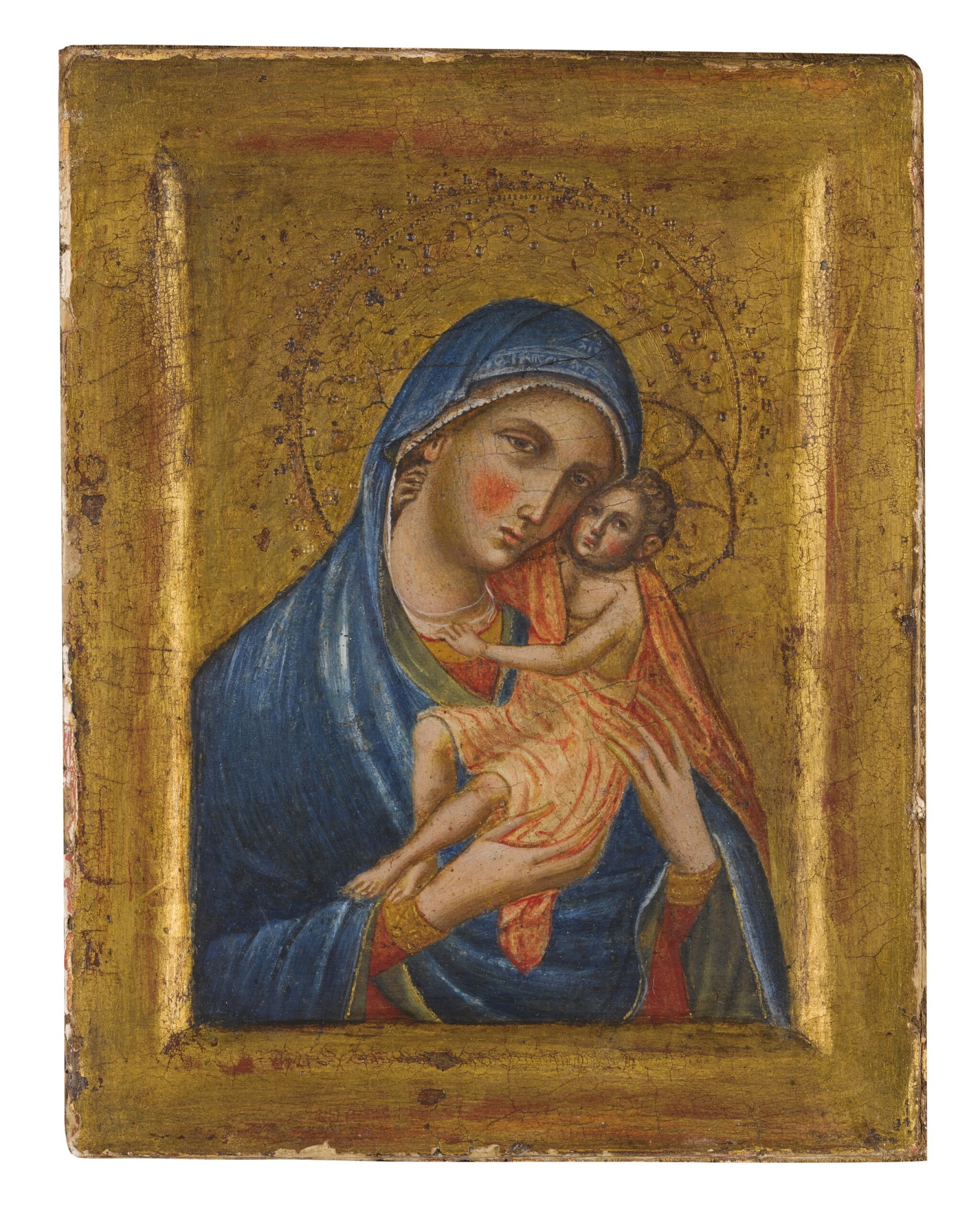 WORKSHOP OF PAOLO VENEZIANO   MADONNA AND CHILD
