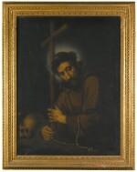 STUDIO OF BERNARDO STROZZI   Saint Francis of Assisi