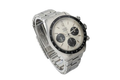 View 2. Thumbnail of Lot 3. ROLEX | REFERENCE 6263 DAYTONA 'SIGMA DIAL'   A STAINLESS STEEL CHRONOGRAPH WRISTWATCH WITH BRACELET, CIRCA 1974.