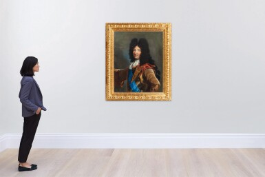 View 4. Thumbnail of Lot 158. Portrait of Louis XIV (1638-1715).