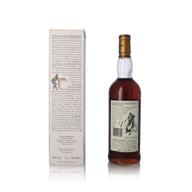 View 2. Thumbnail of Lot 19. The Macallan 18 Year Old 43.0 abv 1980 (1 BT75).