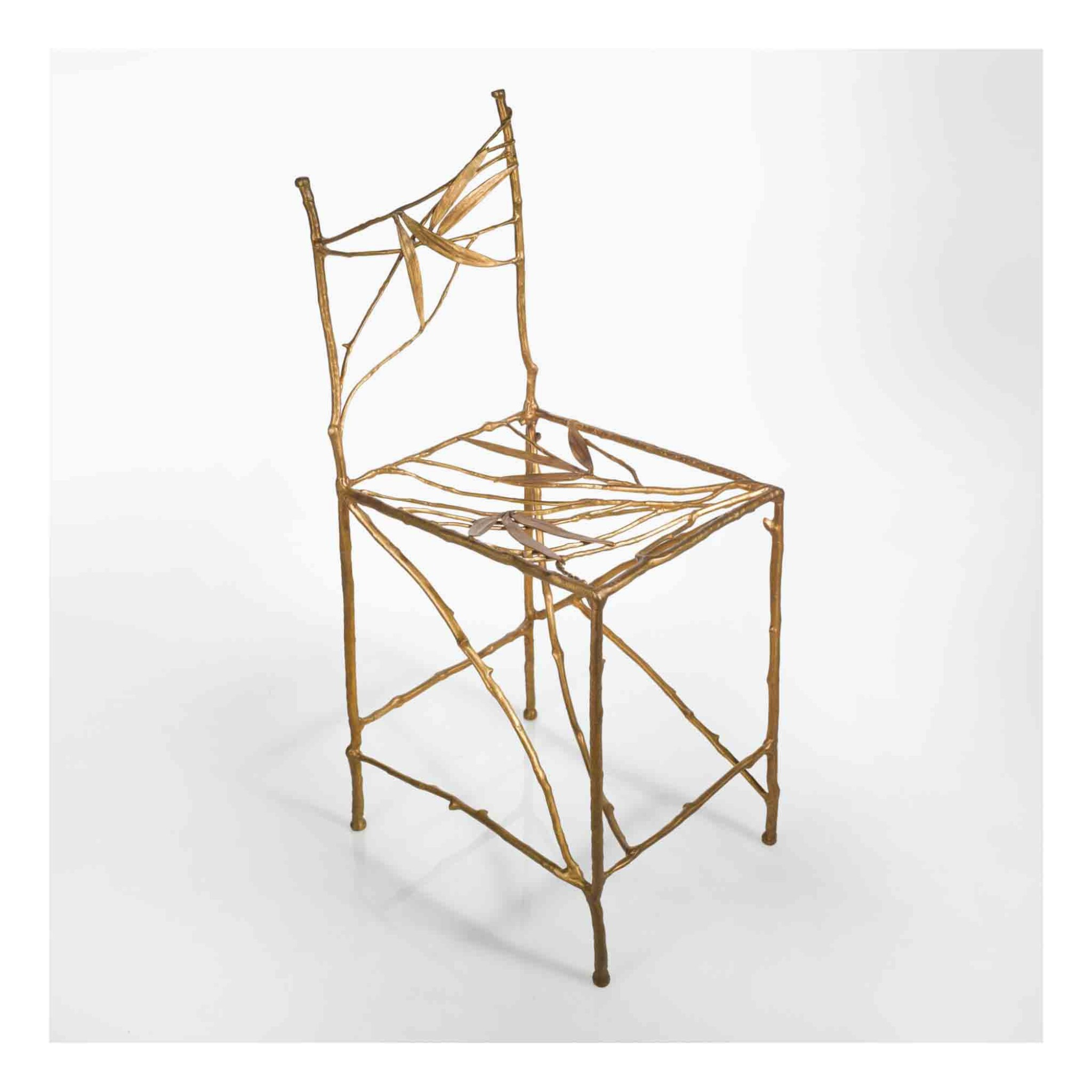 """View 1 of Lot 444. """"Bambou"""" Chair."""