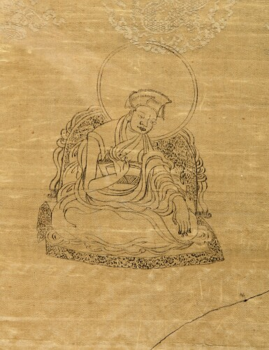 View 3. Thumbnail of Lot 619. A VERY RARE TIBETAN TRAVEL PERMIT ISSUED BY THE SEVENTH DALAI LAMA,  QING DYNASTY, YONGZHENG PERIOD, DATED EARTH-BIRD YEAR, CORRESPONDING TO 1729.