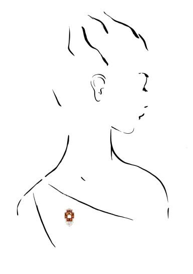 CARTIER | CITRINE AND DIAMOND CLIP