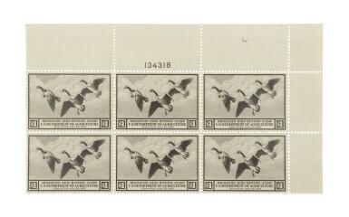 Hunting Permits 1936 $1.00 Brown Black (RW3)
