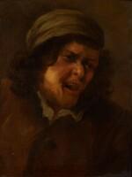 FOLLOWER OF JOOS VAN CRAESBEECK   Alaughing boor