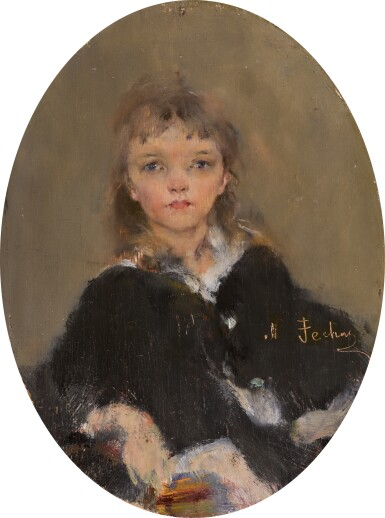 NIKOLAI FECHIN | Portrait of Eya