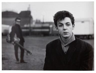 View 1. Thumbnail of Lot 3. ASTRID KIRCHHERR   Paul McCartney, Hamburg, 1960, signed and numbered 29/500.