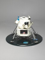 OFFICIAL CONTRACTOR LUNAR LANDER MODEL, ISSUED BY THE SPACECRAFT BUILDER GRUMMAN