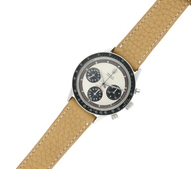View 7. Thumbnail of Lot 14. Reference 6241 'Paul Newman' Daytona A stainless steel chronograph wristwatch, Circa 1968.