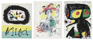 VARIOUS ARTISTS   JOAN MIRÓ; PRINTS FROM THE MOURLOT PRESS; AND EDICIONES POLÍGRAFA (CRAMER BOOKS 39, 91, 247)