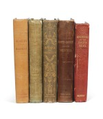 MELVILLE | A collection of five first editions, 1846-1850