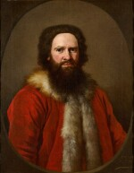 ANDREA SOLDI  |  PORTRAIT OF A BEARDED GENTLEMAN IN TURKISH COSTUME, POSSIBLY A MERCHANT OF THE LEVANT