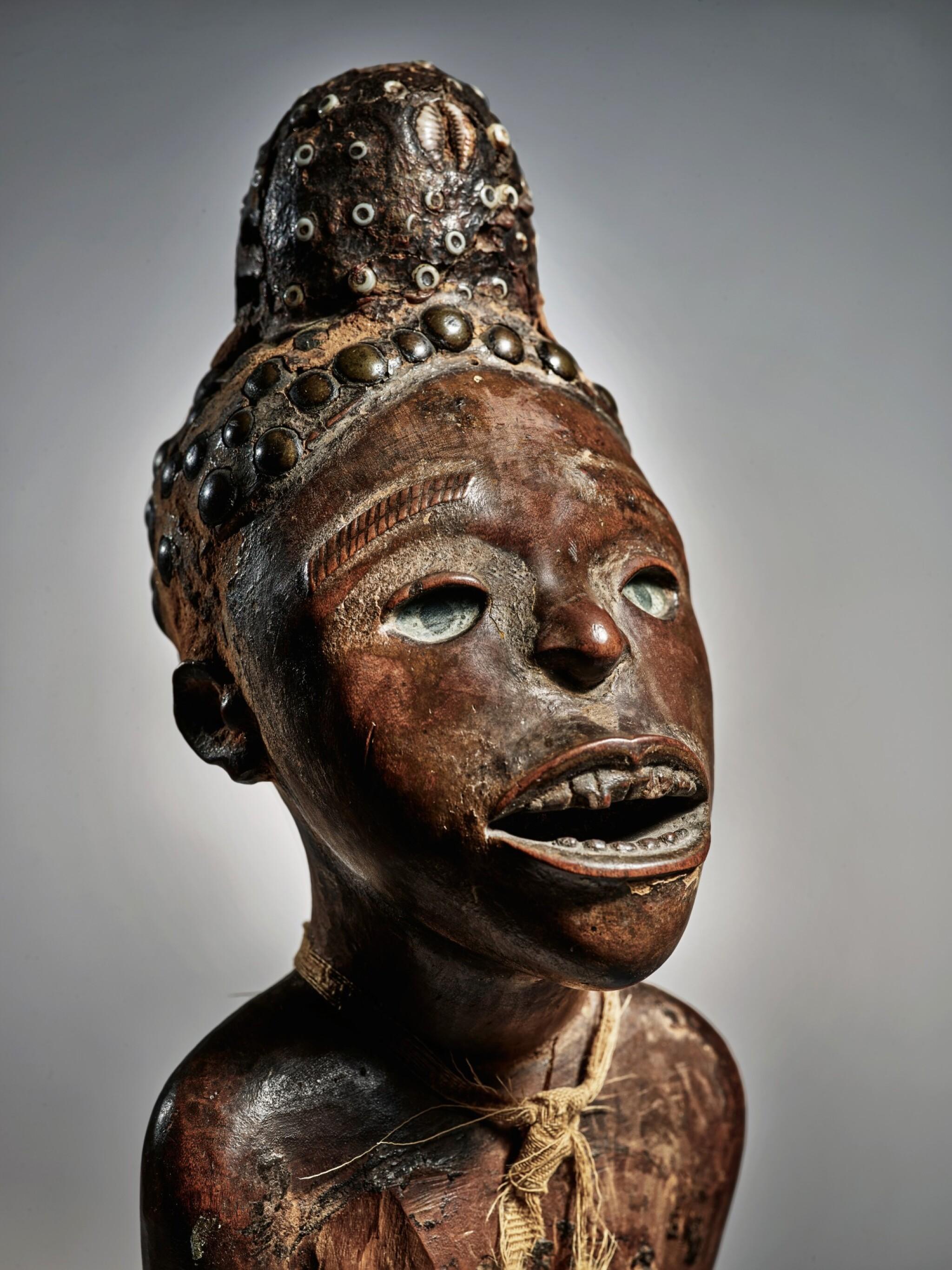 View full screen - View 1 of Lot 75. Kongo Power Figure, Democratic Republic of the Congo.